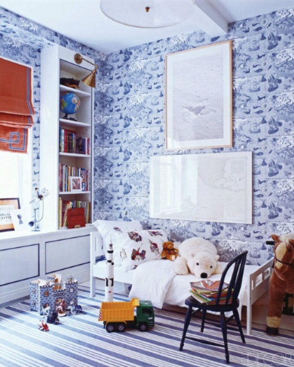 blue-bedrooms-2 bedroom ideas 10 Tremendously Designed Bedroom Ideas in Shades of Blue blue bedrooms 2