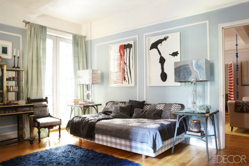 blue-bedrooms-5 bedroom ideas 10 Tremendously Designed Bedroom Ideas in Shades of Blue blue bedrooms 5