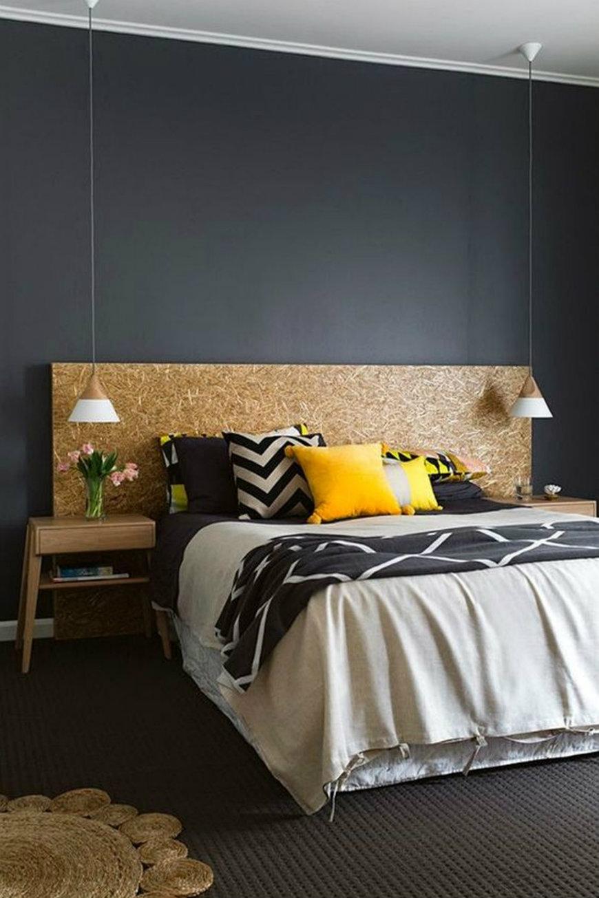 original accent walls Original and Incandescent Bedroom Ideas with Accent Walls original