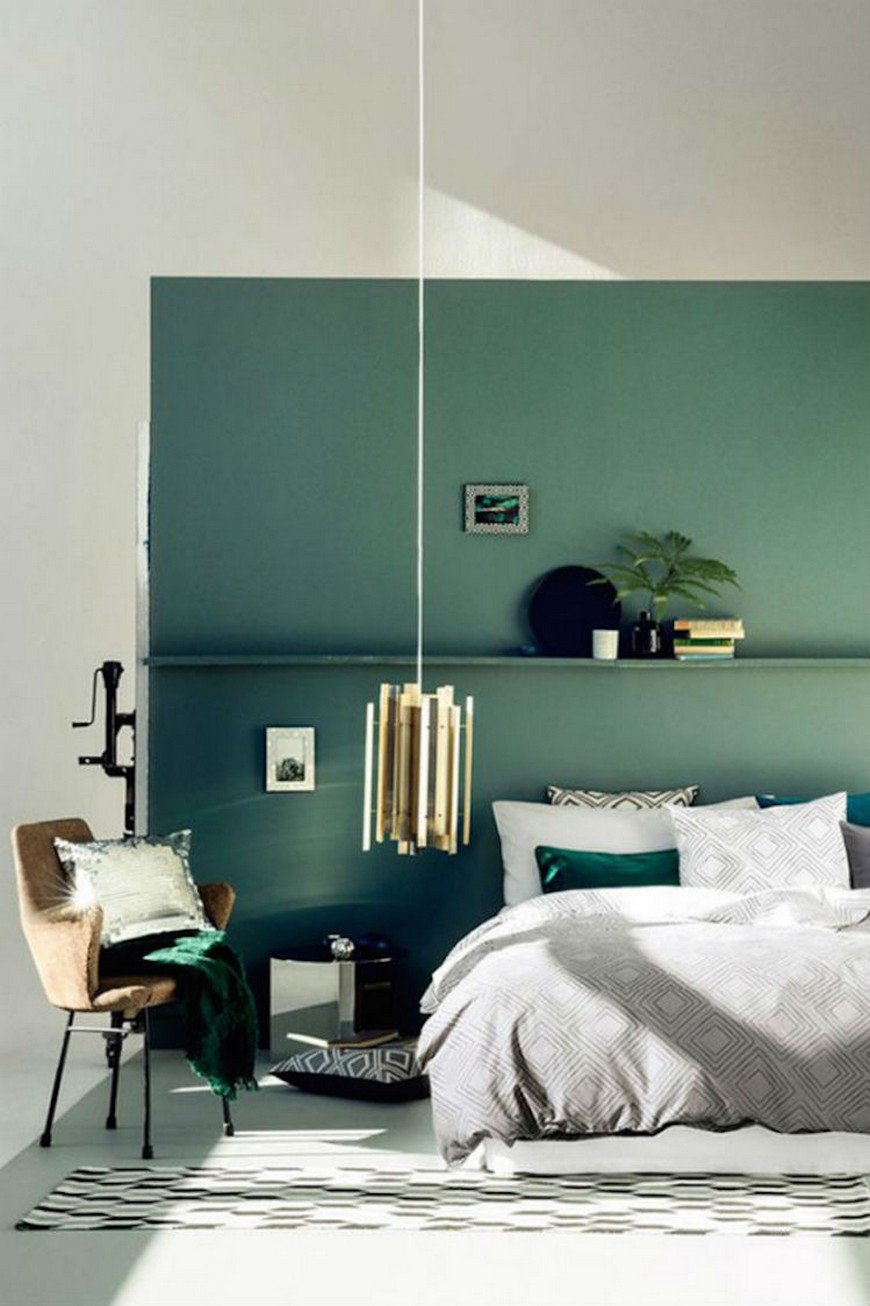source home and decoration Bedroom Ideas Modernly Gorgeous Bedroom Ideas in Green Tones source home and decoration