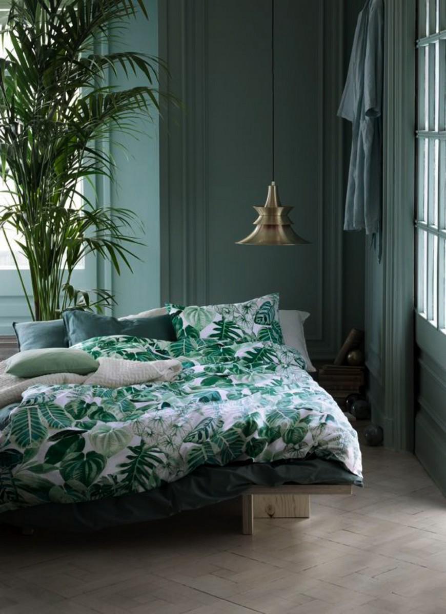source violet wool Bedroom Ideas Modernly Gorgeous Bedroom Ideas in Green Tones source violet wool