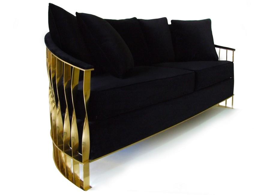 Black Furniture Desgins - Mandy sofa black furniture 30 Black Furniture Designs for Your Lovely Bedroom Decor Black Furniture Desgins Mandy sofa