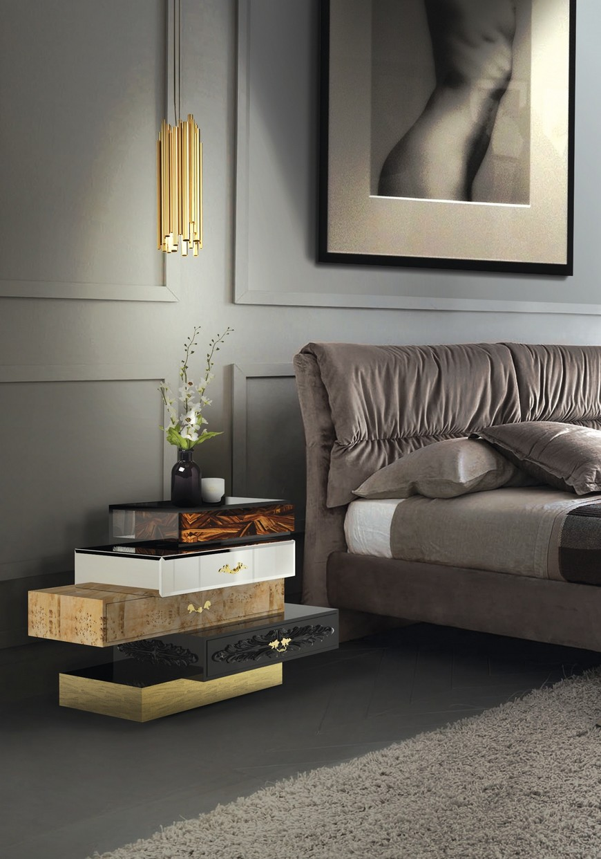 8 luxury nightstands 4 luxury nightstands 8 Luxury Nightstands that Will Empower Any Bedroom Set 8 luxury nightstands 4