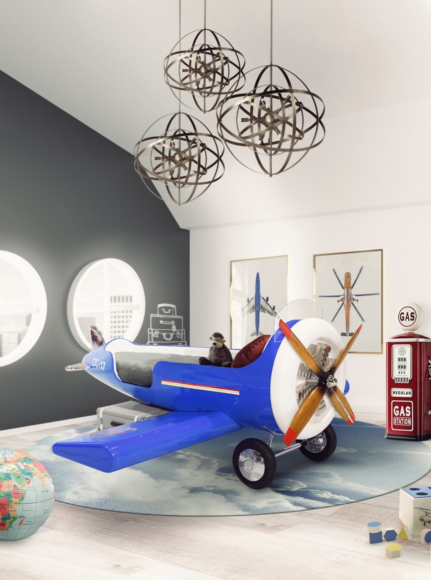 Kids Bedroom Ideas - A Stunning Aviator-Themed Bedroom by Circu 7 Kids Bedroom Ideas Kids Bedroom Ideas - A Stunning Aviator-Themed Bedroom by Circu Kids Bedroom Ideas A Stunning Aviator Themed Bedroom by Circu 7