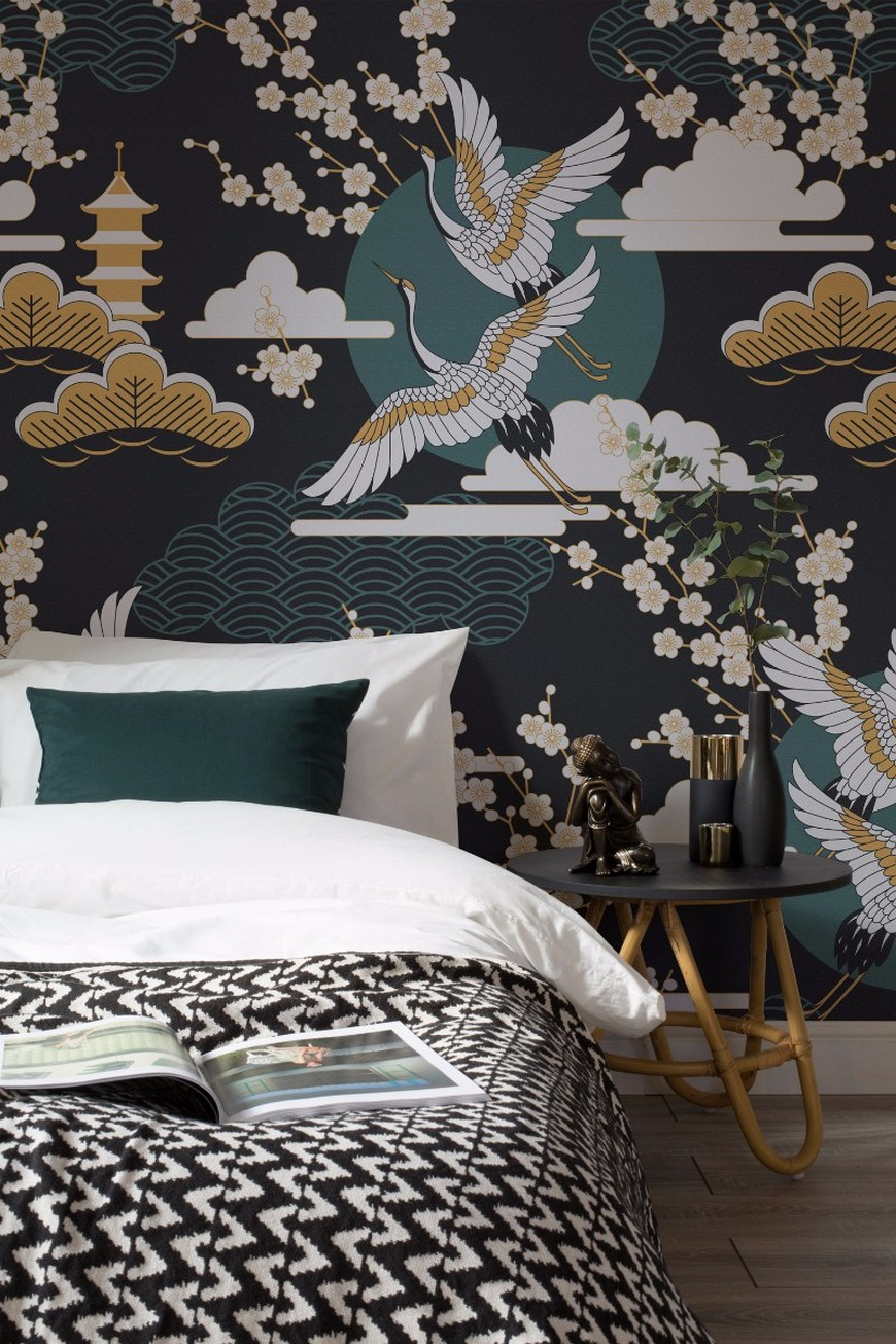 The Most Vibrant Wallpaper Ideas for Your Bedroom Decor 2 design wallpaper The Most Vibrant Design Wallpaper Ideas for Your Bedroom Decor The Most Vibrant Design Wallpaper Ideas for Your Bedroom Decor 2