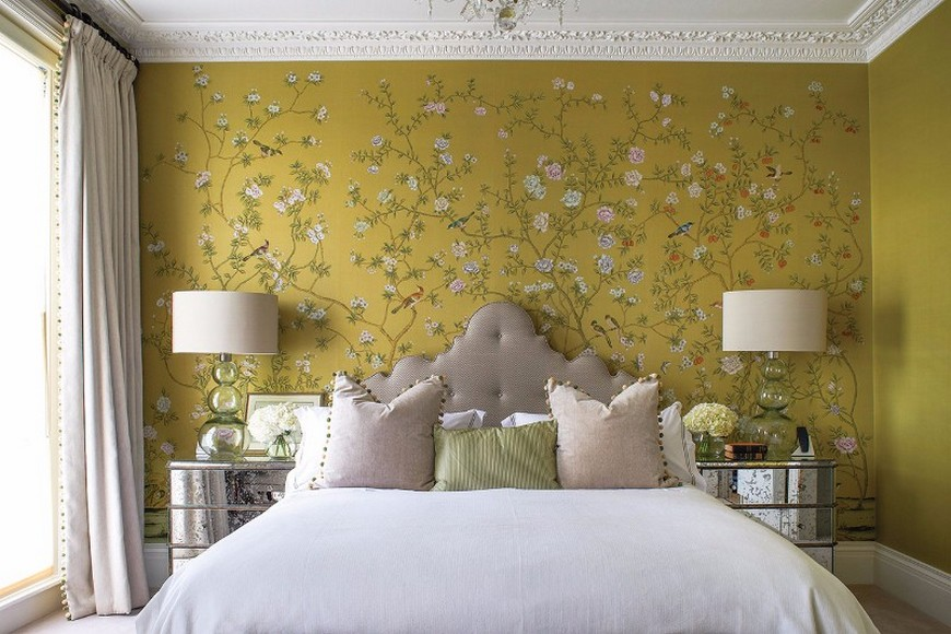 The Most Vibrant Design Wallpaper Ideas for Your Bedroom Decor ...