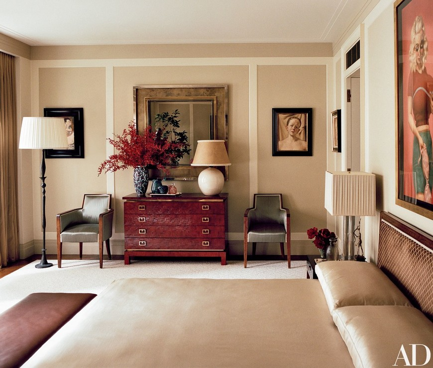 Celebrity Lifestyle - A Look Into the Most Elegant Bedroom Designs 1
