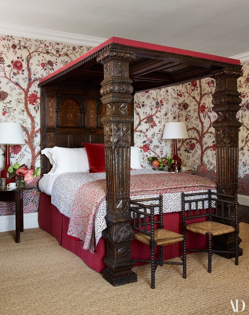 Celebrity Lifestyle - A Look Into the Most Elegant Bedroom Designs 4