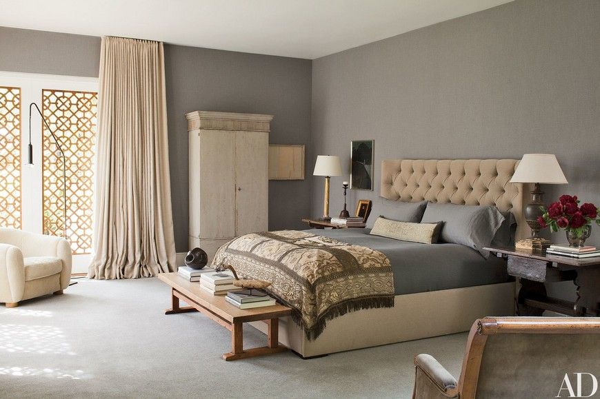 Celebrity Lifestyle - A Look Into the Most Elegant Bedroom Designs 6 bedroom ideas 8 Riveting Gray Bedroom Ideas to Create a Neutral Yet Chic Haven Celebrity Lifestyle A Look Into the Most Elegant Bedroom Designs 6
