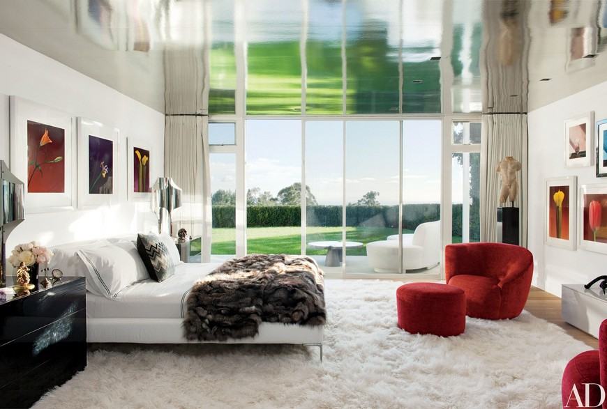 Celebrity Lifestyle - A Look Into the Most Elegant Bedroom Designs 7