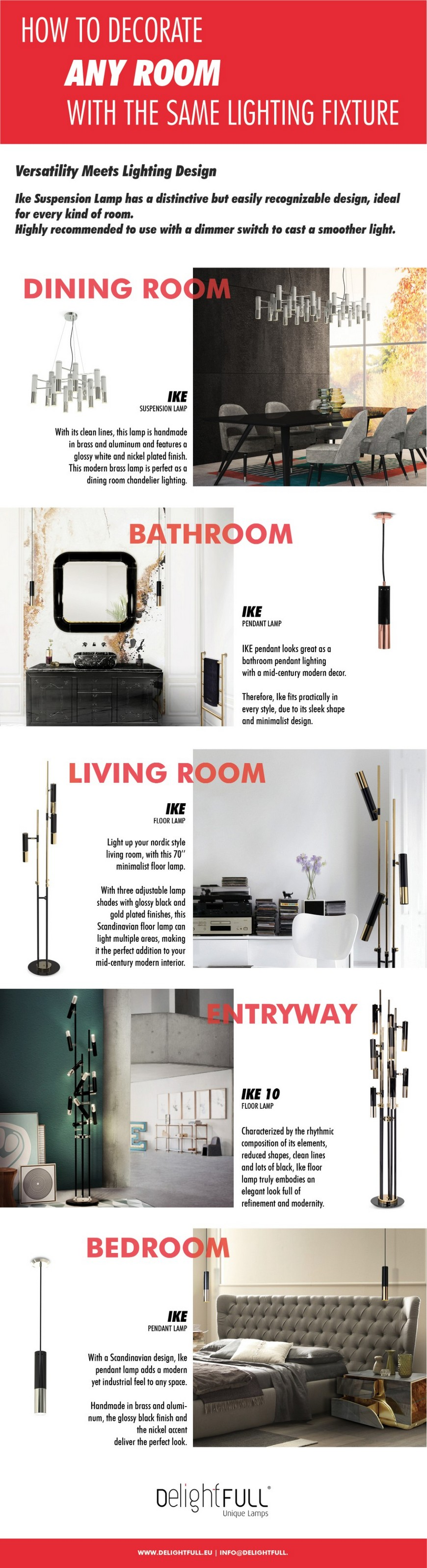 Interior Design Tips on How to Decorate a Home with a Single Lamp 8