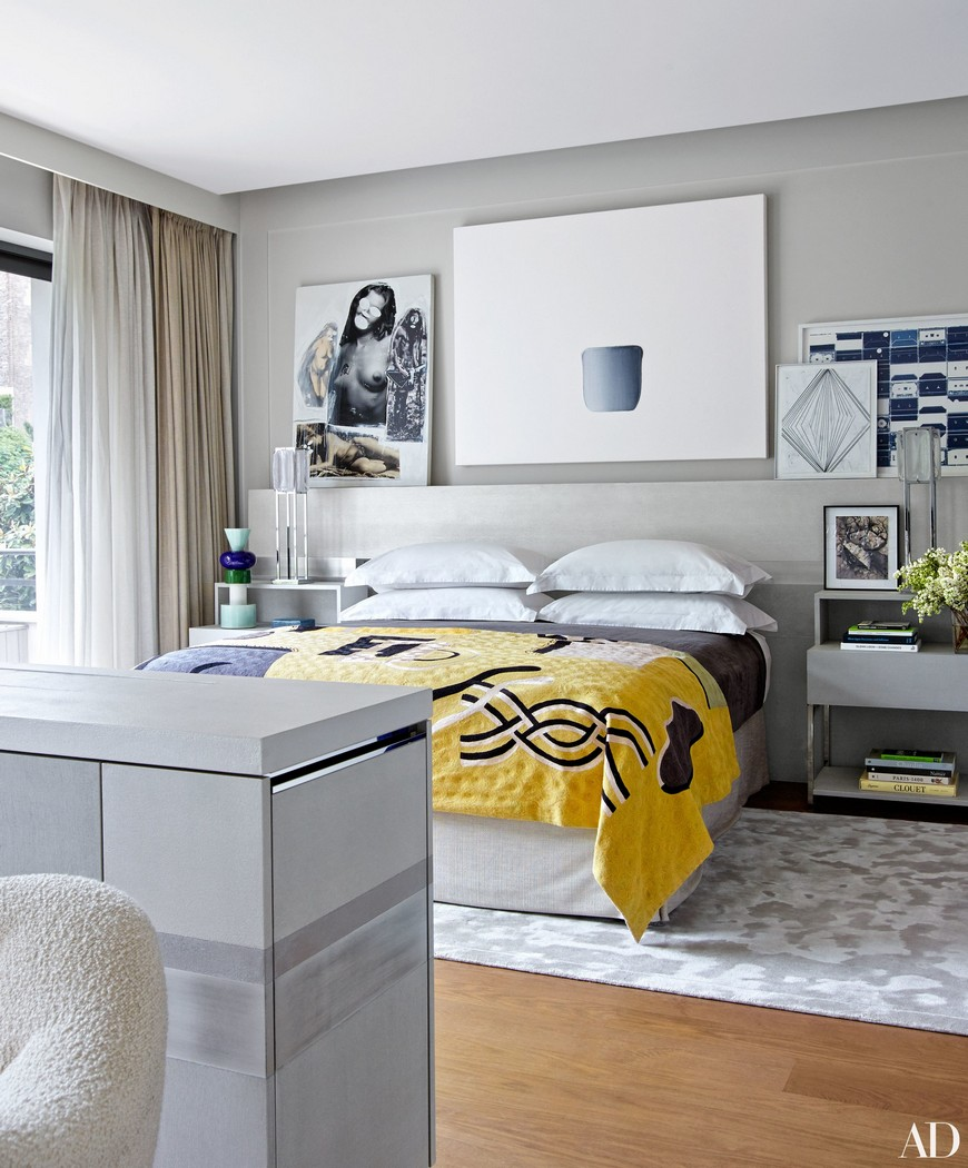8 Reviting Gray Bedroom Ideas to Create a Neautral Yet Chic Haven 2