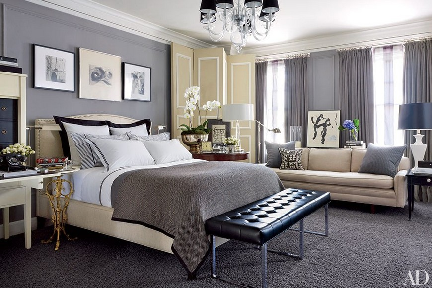 8 Reviting Gray Bedroom Ideas to Create a Neautral Yet Chic Haven 3