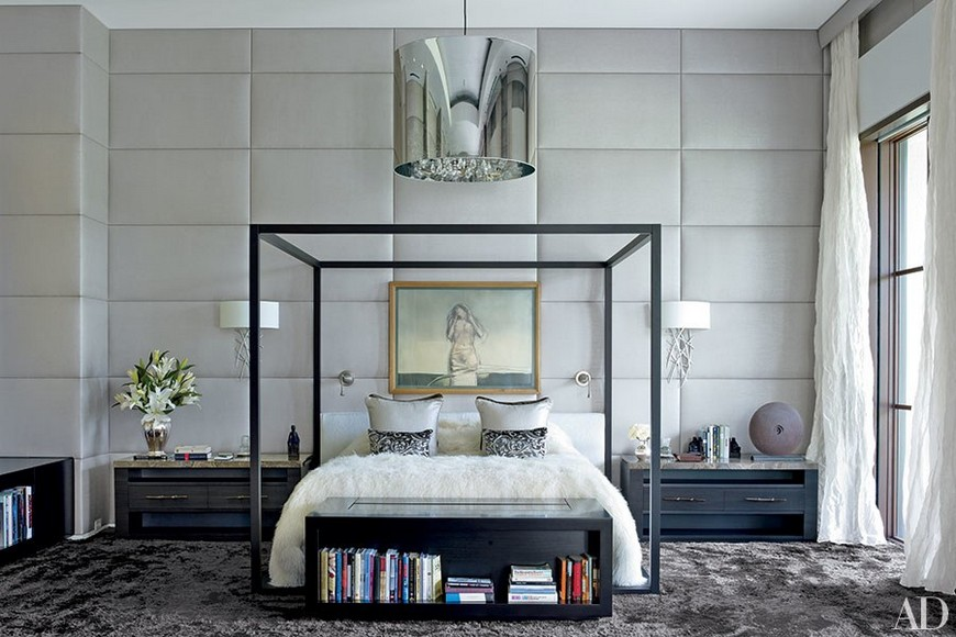 8 Reviting Gray Bedroom Ideas to Create a Neautral Yet Chic Haven 4