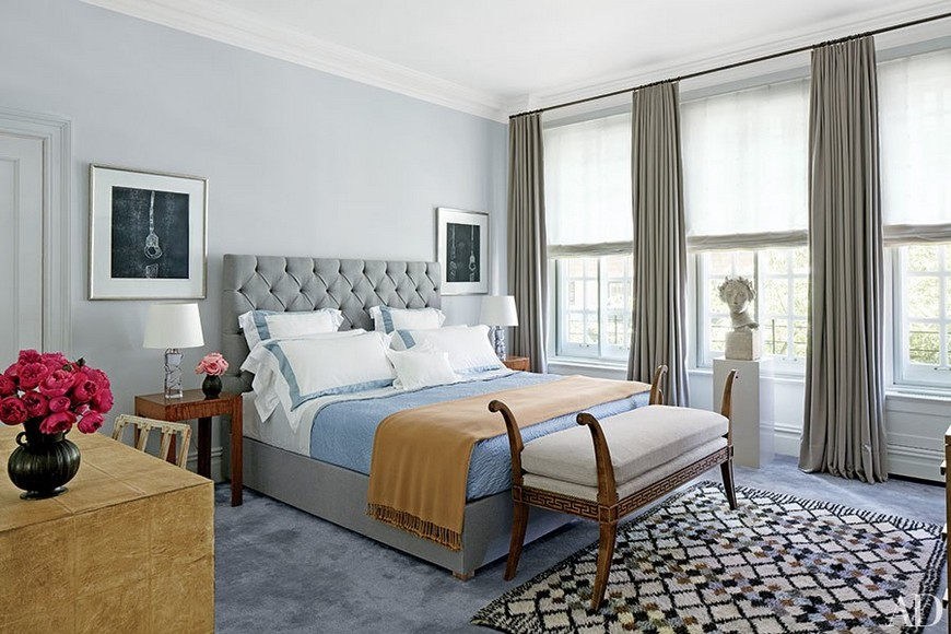 8 Reviting Gray Bedroom Ideas to Create a Neautral Yet Chic Haven 6