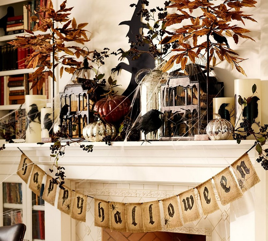 Stylish Halloween Decor Ideas to Use And Abuse In Your Bedroom Set 1