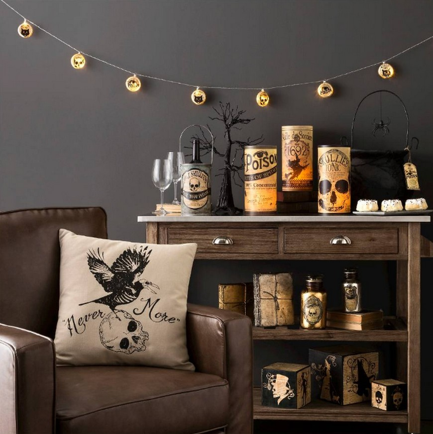 Stylish Halloween Decor Ideas to Use And Abuse In Your Bedroom Set 3