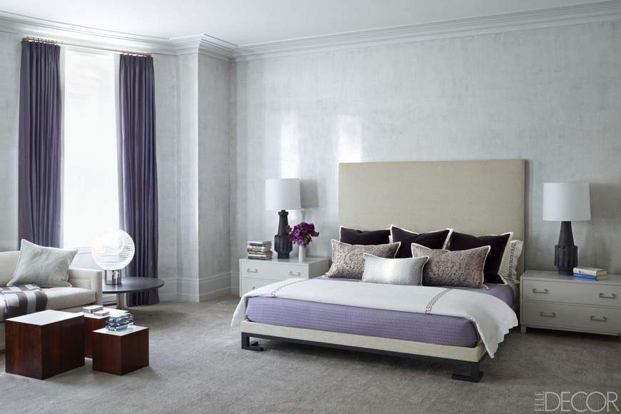 Find the Most Fashionable Bedroom Designs in Purple Tones 6 Bedroom Designs Find the Most Fashionable Bedroom Designs in Purple Tones Find the Most Fashionable Bedroom Designs in Purple Tones 6