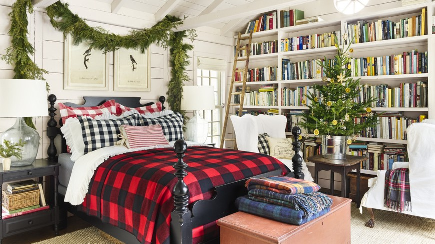The Best Bedroom Christmas Decorations to Enter In the Holiday Spirit 1 bedroom christmas decorations The Best Bedroom Christmas Decorations to Enter In the Holiday Spirit The Best Bedroom Christmas Decorations to Enter In the Holiday Spirit 1