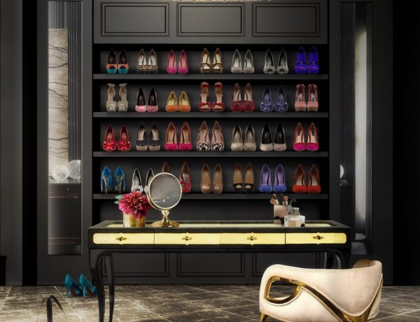 Walk-in Closets 10 Walk-in Closets for a Luxury Bedroom 10 Closets for a Luxury Bedroom 13 600x460
