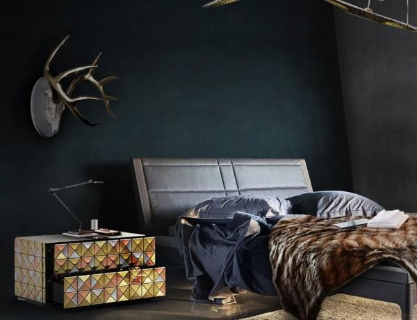 Masculine Bedroom Ideas Masculine Bedroom Ideas 20 Modern Nightstands for a Modern Bedroom 13 600x460