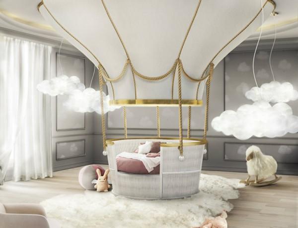 kids bedroom Kids Bedroom Decor Ideas fantasy balloon ambience circu magical furniture 01 600x460