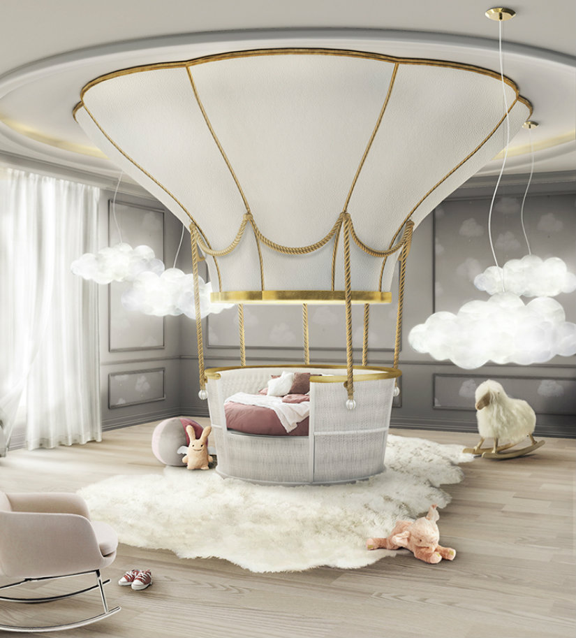 kids bedroom Kids Bedroom Decor Ideas fantasy balloon ambience circu magical furniture 01