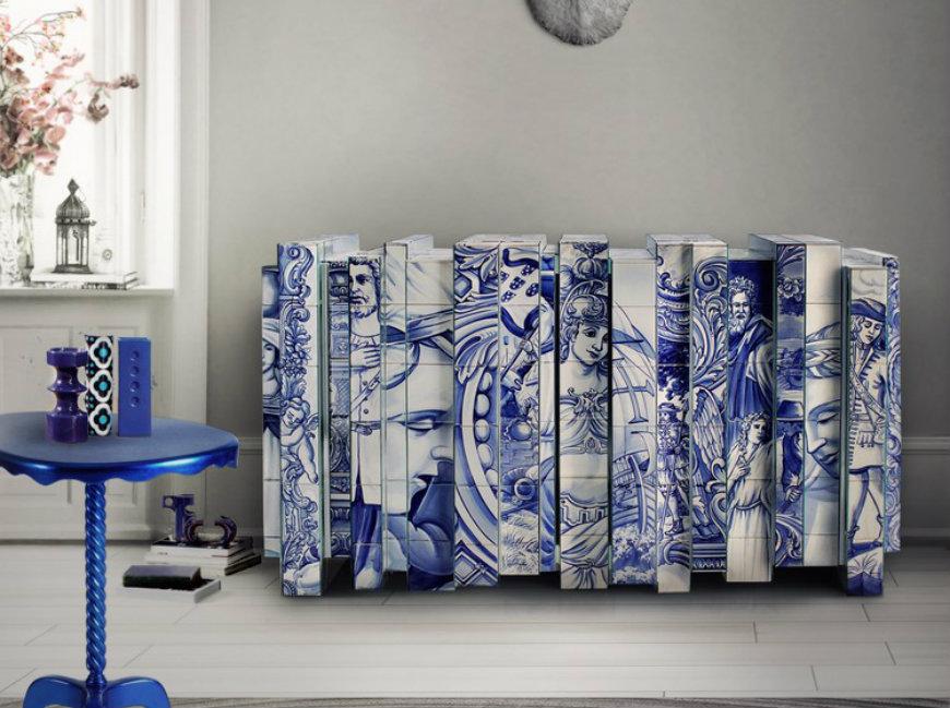 navy blue bedroom Navy Blue Bedroom Decoration Ideas heritage sideboard