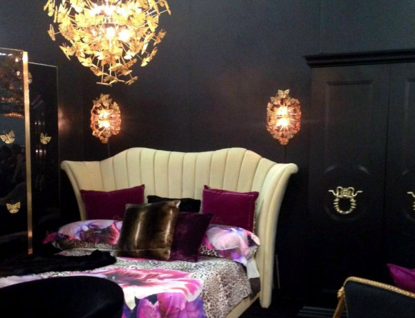 beds collection Discover Koket Astonishing Beds Collection Big Opening of KOKET at Architectural Digest Design Home Show 2016 Interior design 600x460