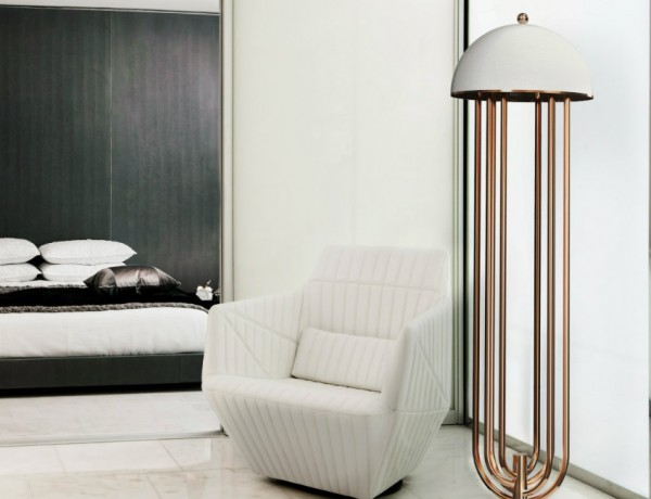 Lighting Ideas for a Bedroom Lighting Ideas for a Bedroom by Delightfull delightfull turner art deco floor hotel lounge corner lamp 02 600x460