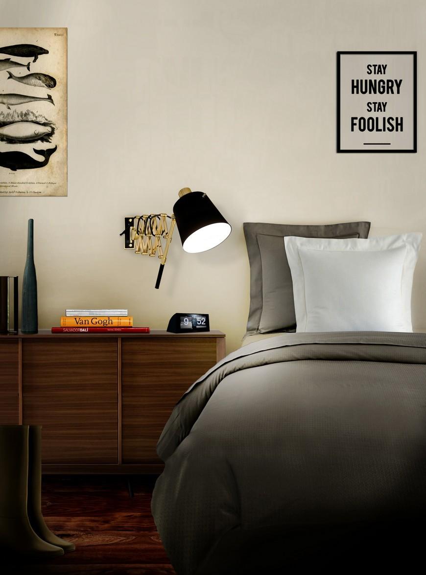 Pastorius Wall Lamp by Delightfull Bedroom Ideas 5