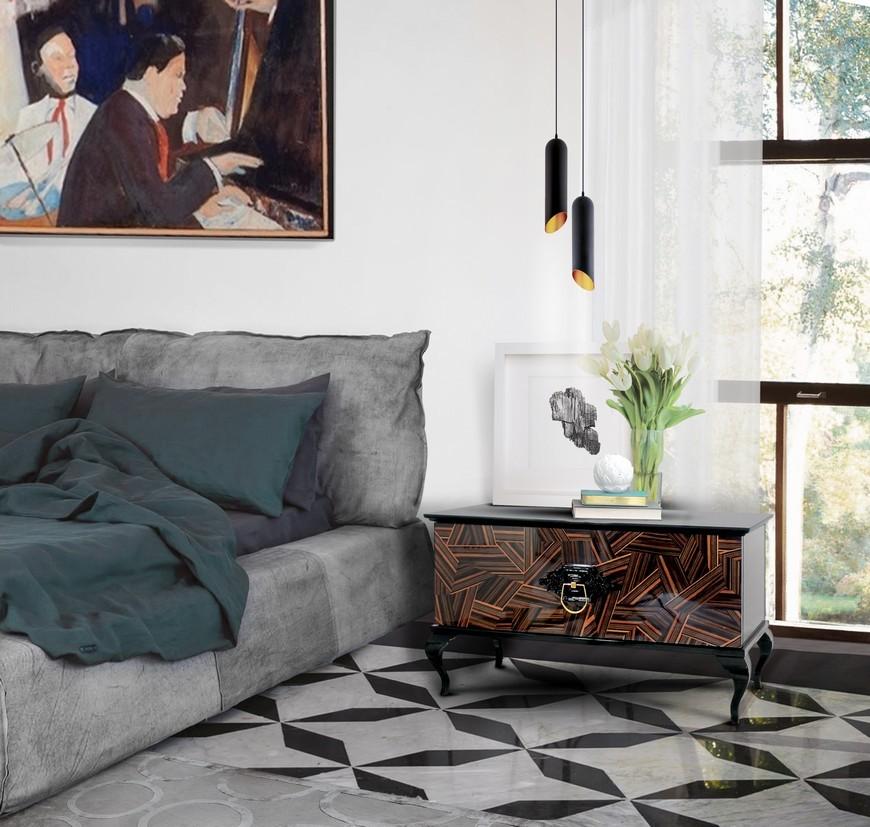 Guggenheim Nightstand by Boca do Lobo Bedroom Ideas 8
