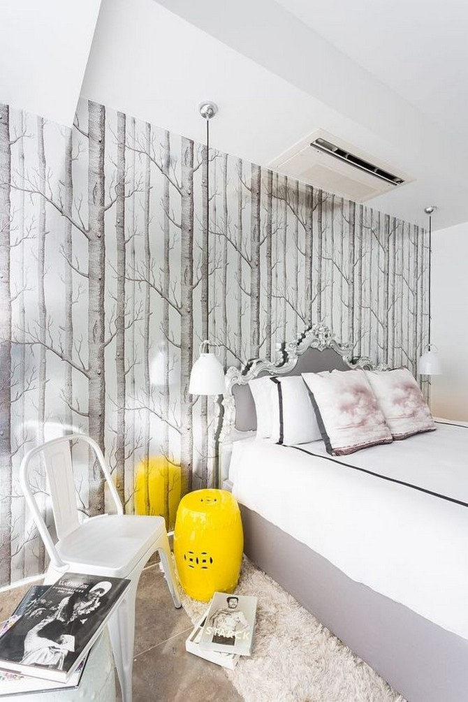 Bedroom by Philippe Starck Bedroom by Philippe Starck 1