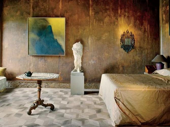 Master bedroom by Axel Vervoordt Master bedroom by Axel Vervoordt