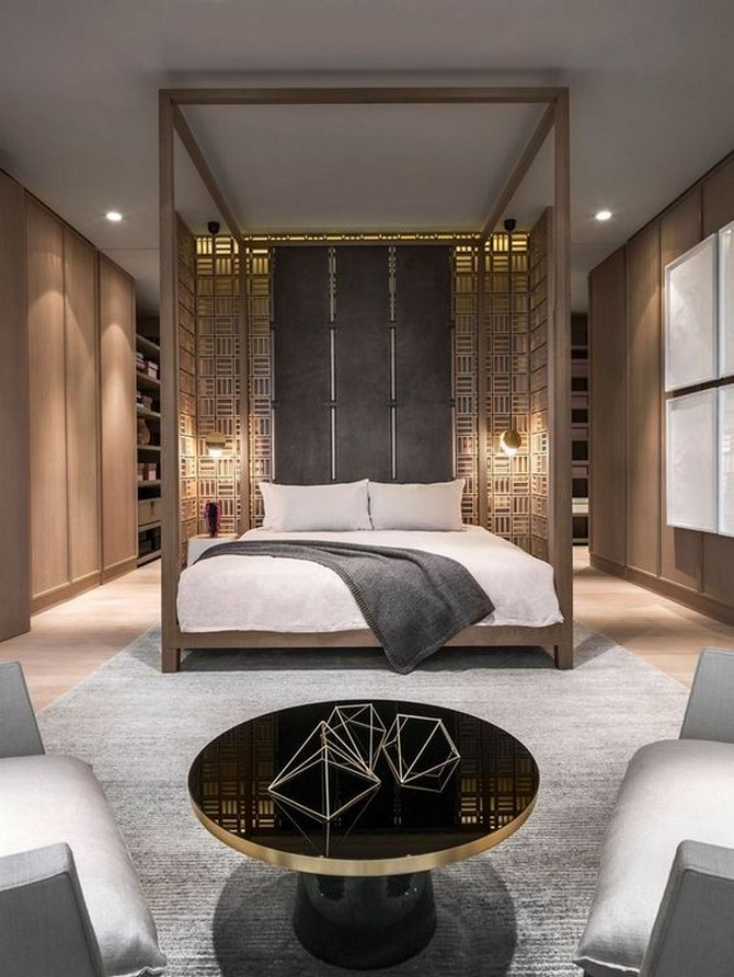 Wonderful Bedroom Interiors by Yabu Pushelberg Wonderful Bedroom Interiors by Yabu Pushelberg 4 1