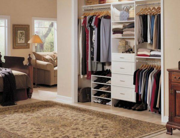 bedroom closet Bedroom Ideas: How to Organize Your Bedroom Closet 4 4 600x460