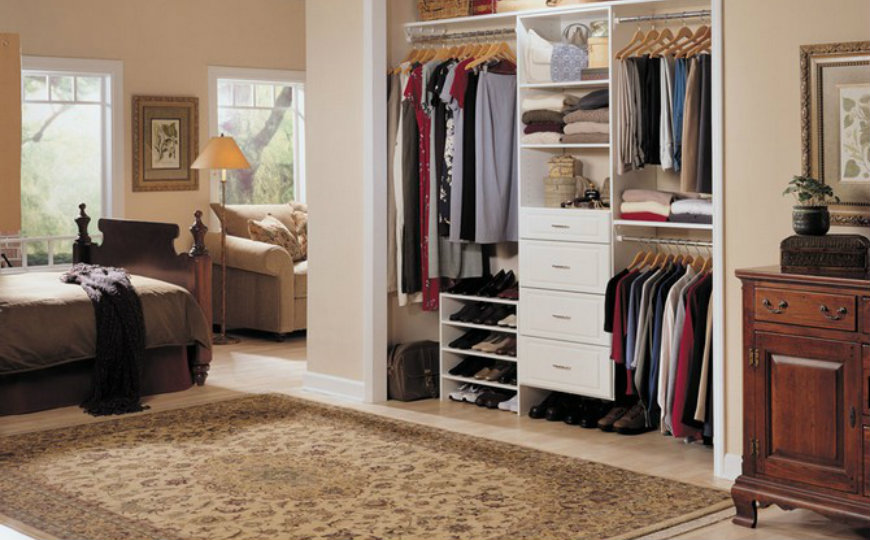 bedroom closet Bedroom Ideas: How to Organize Your Bedroom Closet 4 4
