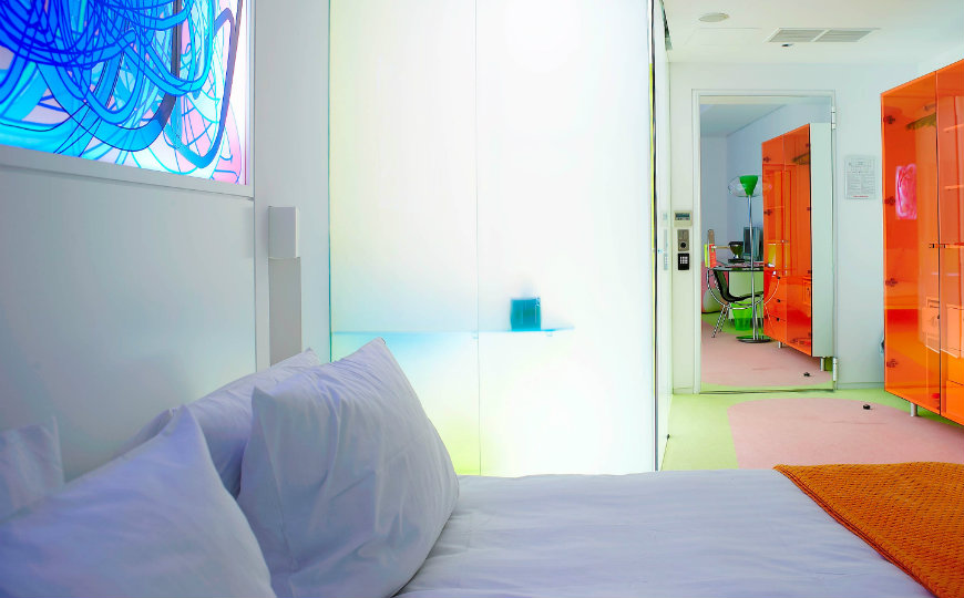 Bedroom Ideas Karim Rashid S Colorful Bedrooms At Semiramis Hotel Bedroom Ideas