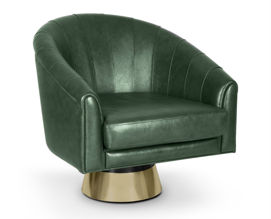 pantone Decorate Your Bedroom with Pantone's Selected Colour Greenery bogarde armchair 02 HR