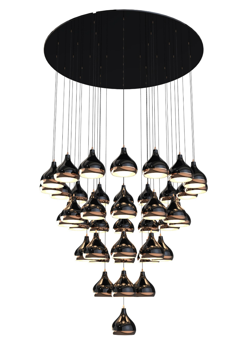chandeliers The Most Vibrant and Fabulous Chandeliers to Place In Your Bedroom hanna chandelier detail 01 HR