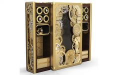 luxurysafesfi Luxury Safes Intensify Your Bedroom Decor with Boca do Lobo's Luxury Safes luxurysafesfi 240x150