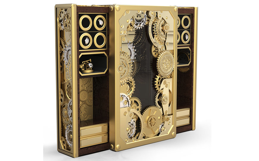 luxurysafesfi Luxury Safes Intensify Your Bedroom Decor with Boca do Lobo's Luxury Safes luxurysafesfi