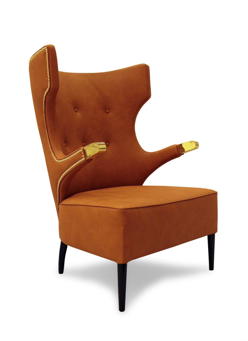 hilary swank Be Astonished by Hilary Swank's Magnificent Apartment in Paris sika armchair 1 HR