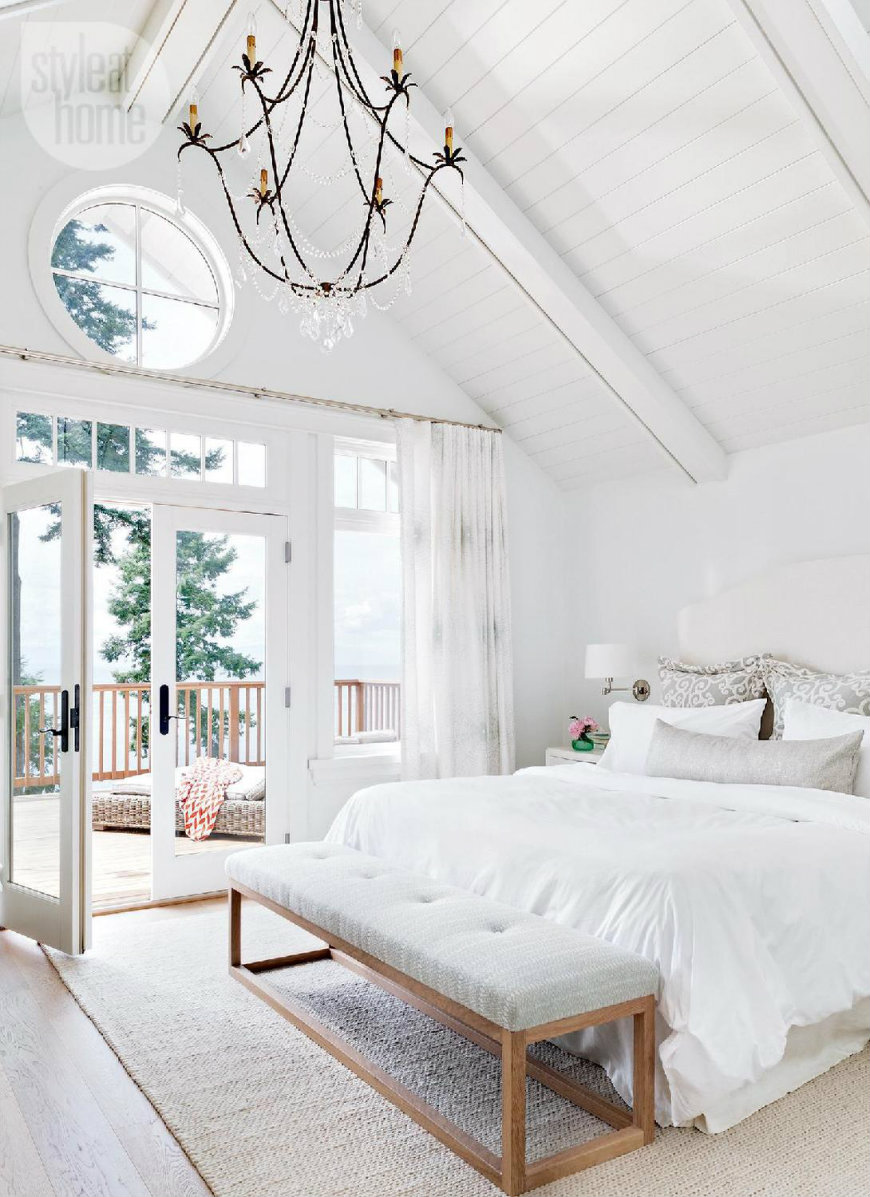 high ceiling bedroom ideas - Unique Ways to Decorating Bedrooms with High Ceilings