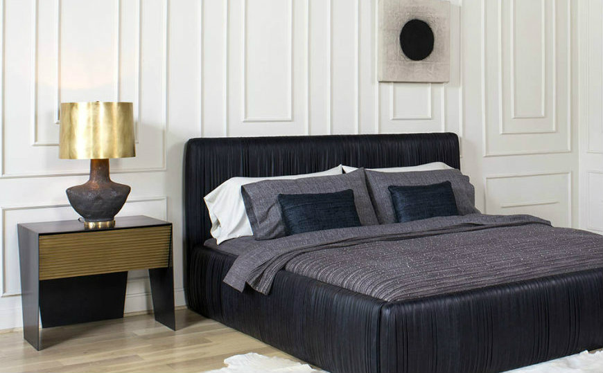 Upholstered headboards Spruce Up Your Bedroom Decor with 25 Fabulous Upholstered Headboards featured 4