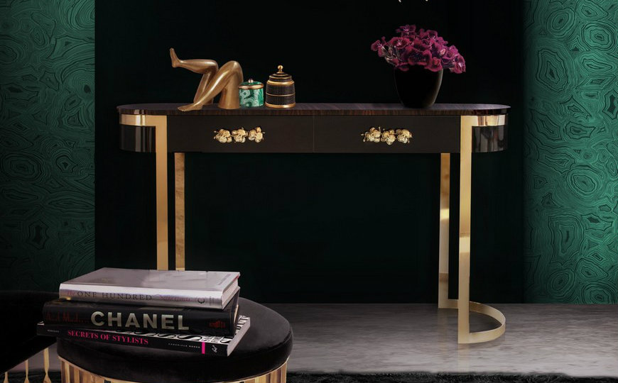 featured luxury consoles 25 Ingenious Luxury Cabinets that You Will Absolutely Adore featured 3