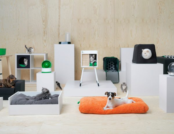 Furniture Designs for pets Discover IKEA's First Amazing Collection of Furniture Designs for Pets IKEAs pet collection 600x460