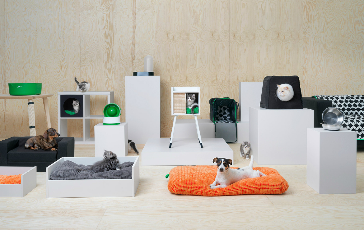 Furniture Designs for pets Discover IKEA's First Amazing Collection of Furniture Designs for Pets IKEAs pet collection