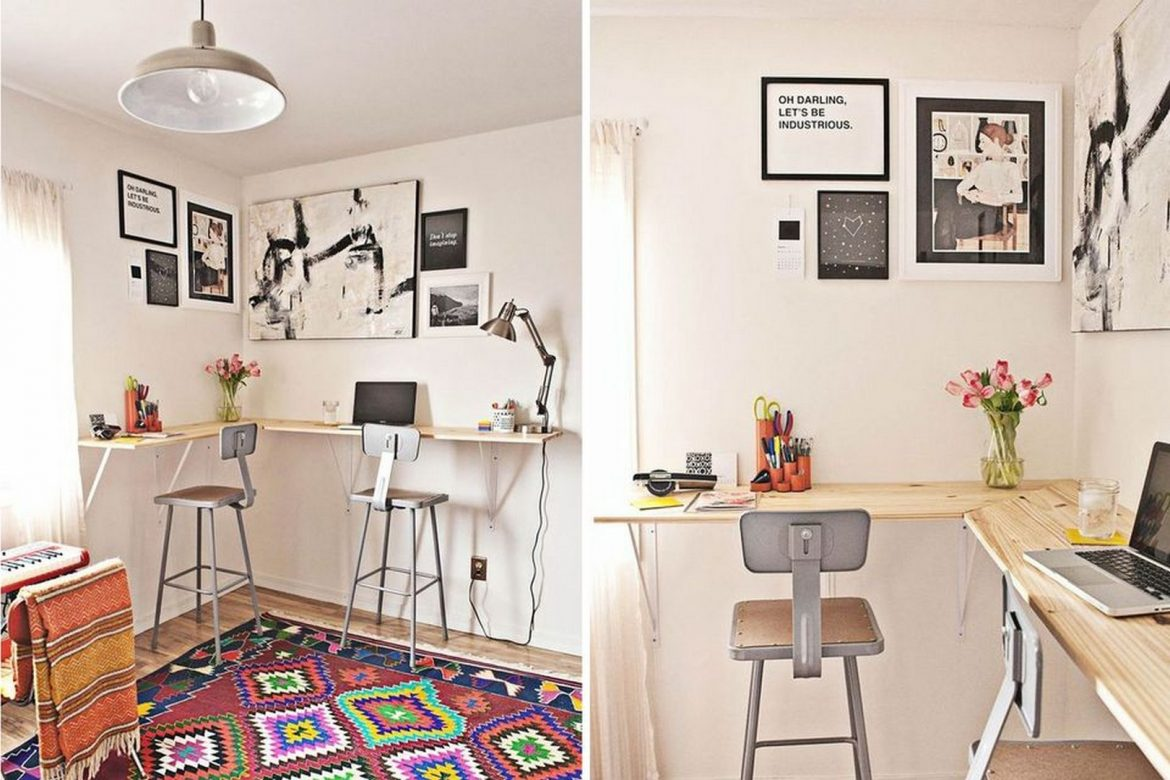 10 Ideas To Blend Your Home Office With
