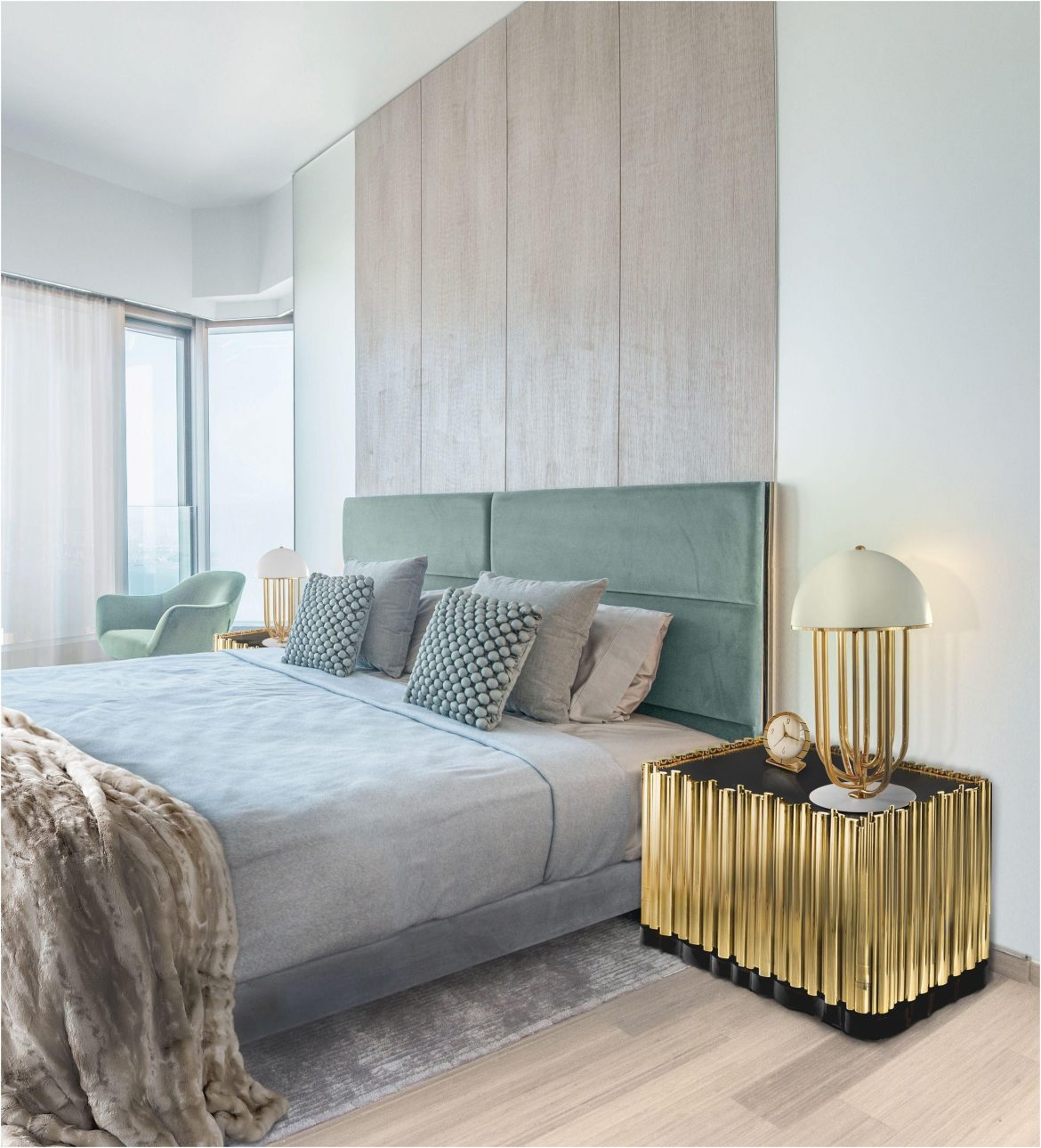 7 Bedside Tables Ideas That Make Your Bedroom Decor More Functional 3